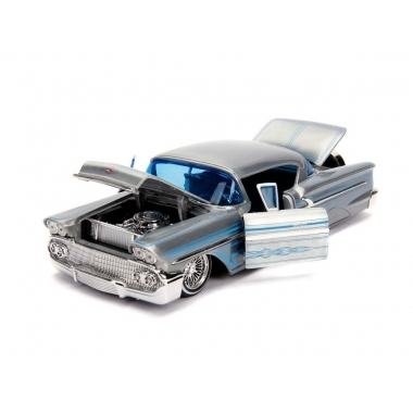 Jada 20th Anniversary 1958 Chevrolet Impala Street Low, macheta auto 1:24