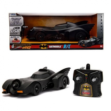 Batman Hollywood Rides RC 1989 Batmobile