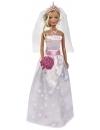 Papusa Steffi Love in rochie de mireasa, cu domnisoare de onoare 29 cm