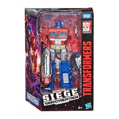 Transformers War for Cybertron: Siege  Voyager 2020  Optimus Prime