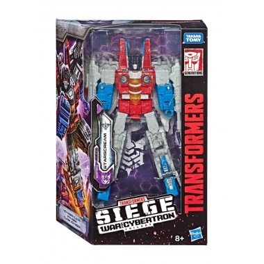Transformers War for Cybertron: Siege Voyager 2020 Starscream 18 cm