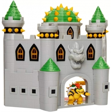 "World of Nintendo 2.50"" Deluxe Bowser Castle Playset"