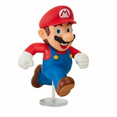 World of Nintendo, minifigurina Mario (Running) 6 cm