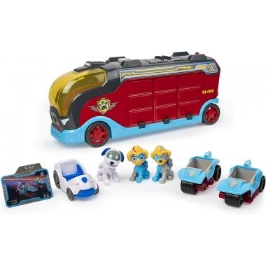 Patrula Catelusilor - Mega camionul cu catelusi gemeni si masinute