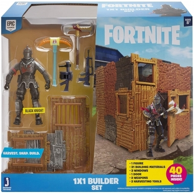 Fortnite, Builder Set cu figurina Black Knight