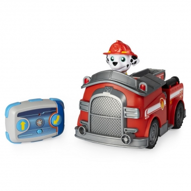 Patrula Catelusilor Marshall si masina de pompieri radiocomandata