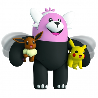 Pokemon, Figurina de actiune Bewear 11 cm