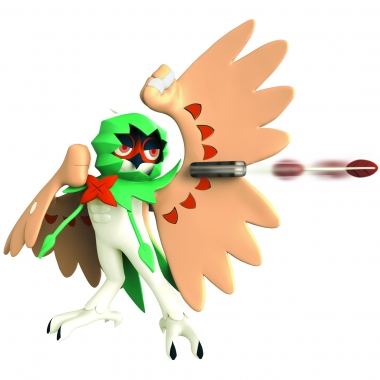 Pokemon, Figurina de actiune Decidueye 11 cm