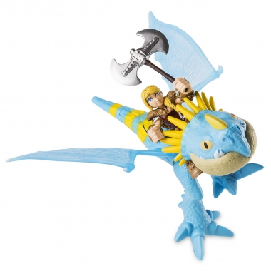 Dragon cu calaret: Stormfly si Astrid