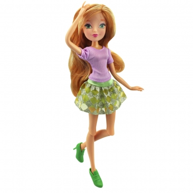 Papusa zana Flora, Winx Club - Trendy Magic, 28 cm