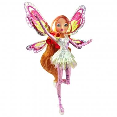 Papusa zana Flora, Winx Club - Tynix Fairy, 28 cm