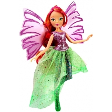 Papusa Flora, WInx Club - Sirenix Magic, 28 cm