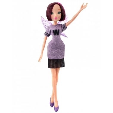 Papusa Tecna, Winx Style Fashion, 27 cm