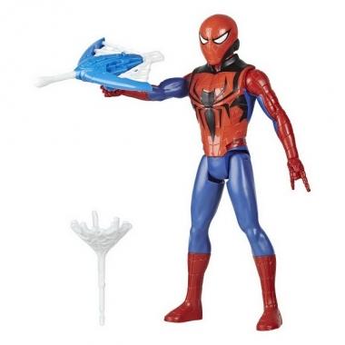 Figurina Spider-Man figurina cu lansator, 30 cm