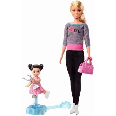 Papusa Barbie Cariere - antrenoare de patinaj