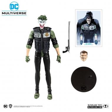 DC Multiverse White Knight Joker 18 cm (Septembrie)