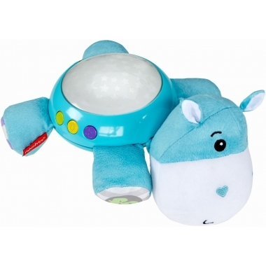Proiector hipopotam Fisher Price