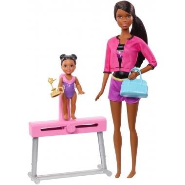 Barbie Cariere - Papusa antrenoare de gimnastica