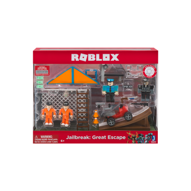 Roblox -  Jailbreak Great Escape (set 4 figurine)