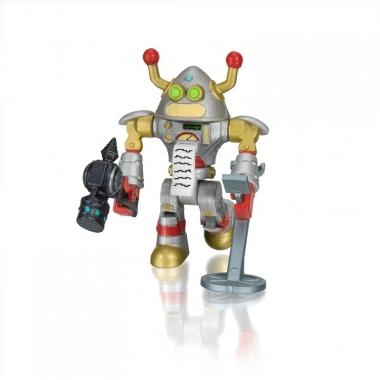 Figurina Roblox cu accesorii si cod virtual Brainbot 3000