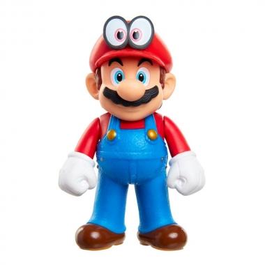 World of Nintendo, Mario & Cappy (Odyssey) minifigurina 6 cm