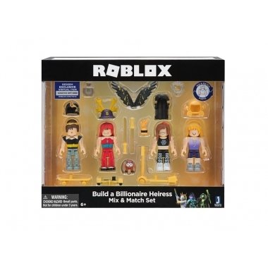 Roblox Celebrity – Build a Billionaire Heiress Mix & Match (set 4 figurine interschimbabile)