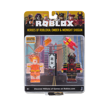 Roblox Celebrity – Heroes of Robloxia Ember & Midnight Shogun