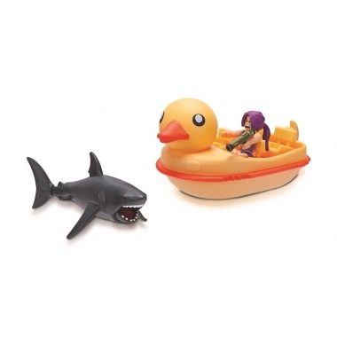 Roblox Celebrity - Set de joaca Shark Bite: Duck Boat