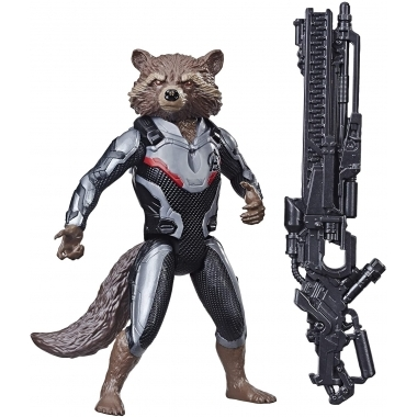 Avengers, Figurina Rocket Raccoon 30 cm (Titan Hero)