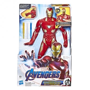 Figurina de actiune Iron Man cu sunete si fraze 33 cm