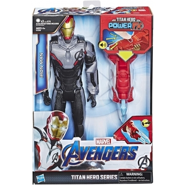 Avengers, Figurina Iron Man 30 cm (Titan Hero Power FX)