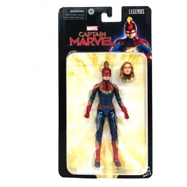 Marvel, Figurina articulata Captain Marvel 15 cm