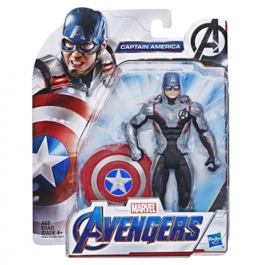 Figurina Avengers Captain America (Team Suit) 15 cm (Basic)