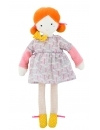 Papusa Blanche din material textil, 26 cm, Moulin Roty