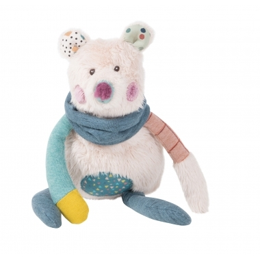 Ursulet polar din plus, 29 cm, Moulin Roty
