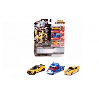 Transformers set 3 machete metalice