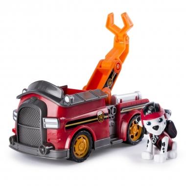 Patrula Catelusilor set vehicul cu figurina Marshall