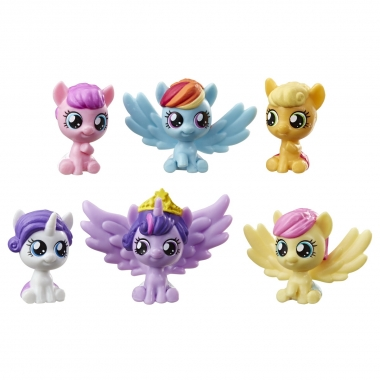 My Little Pony  -  colectie de 6 baby ponei