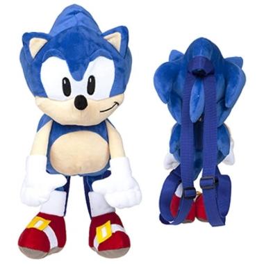 Sonic the Hedgehog, Jucarie din plus Sonic rucsac 35 cm