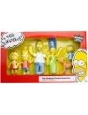 Simpsons Family, Set 6 figurine Bendable (flexibile) 3-15 cm