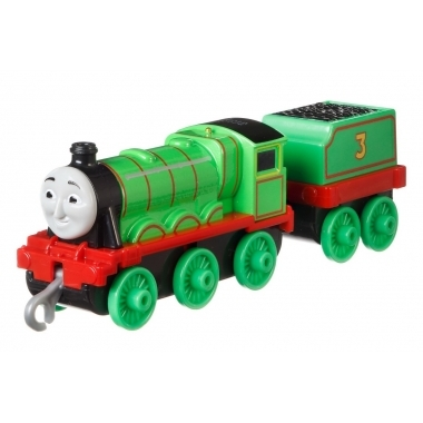 Thomas and Friends - Henry, locomotiva cu vagon (push along)