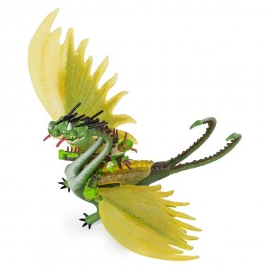 Dragons 3 - set dragon Belch si Barf cu figurina Tuffnut