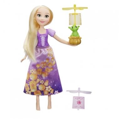 Papusa Rapunzel cu lampion