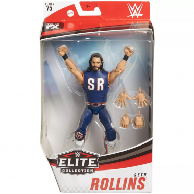 Figurina WWE Seth Rollins Elite 75, 17 cm