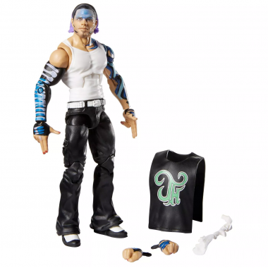 Figurina WWE Jeff Hardy Elite 75, 17 cm