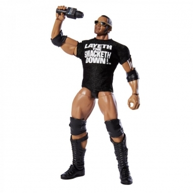 Figurina WWE The Rock Elite 69 Exclusive, 18 cm