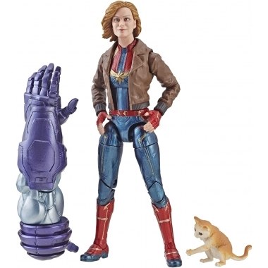 Marvel Legends Series, Figurina Captain Marvel 2019 15 cm