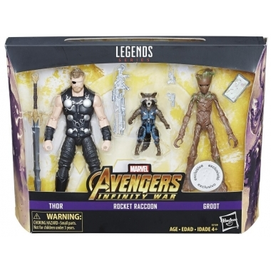 """Avengers: Infinity War Marvel Legends Three-Pack Toys""""R""""Us Exclusive"""