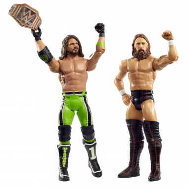 Daniel Bryan & AJ Styles - WWE Battle Packs 64