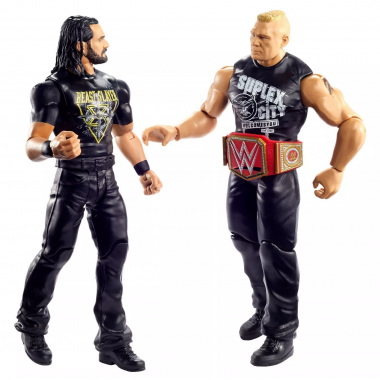 Seth Rollins & Brock Lesnar, WWE Battle Packs 63, 17 cm